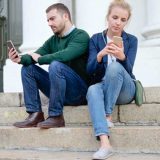 couple, technology